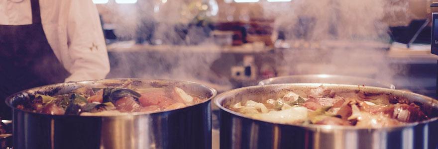 Aménagement de cuisine professionnelle