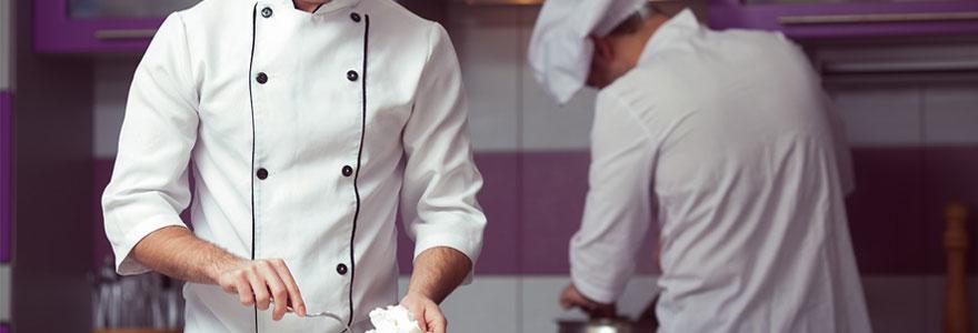 vestes de cuisines